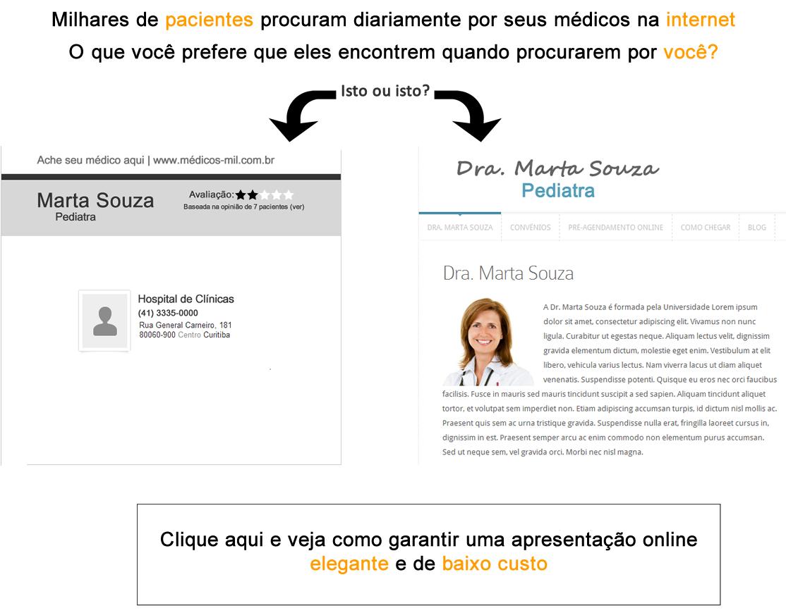 websites para médicos 2